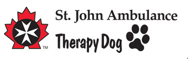St. John Ambulance Therapy Dog logo